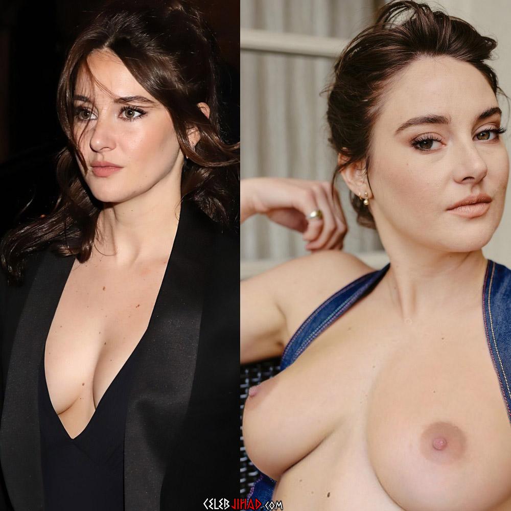 Shailene Woodley nude tits