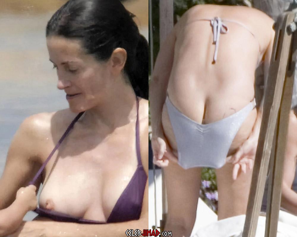 Courteney Cox nude