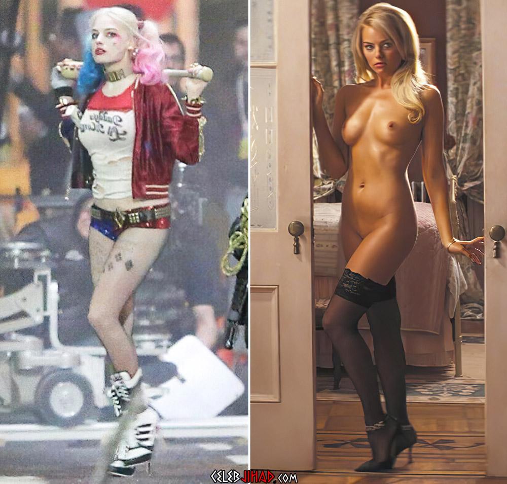 Margot Robbie nude