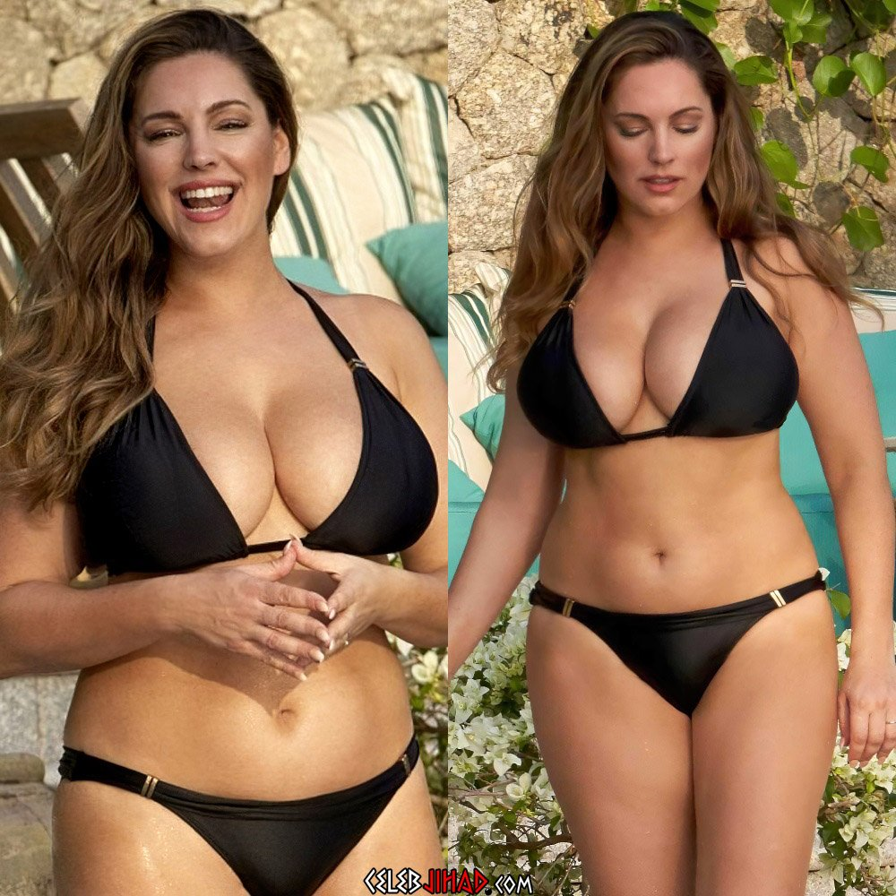 Kelly Brook bikini tits