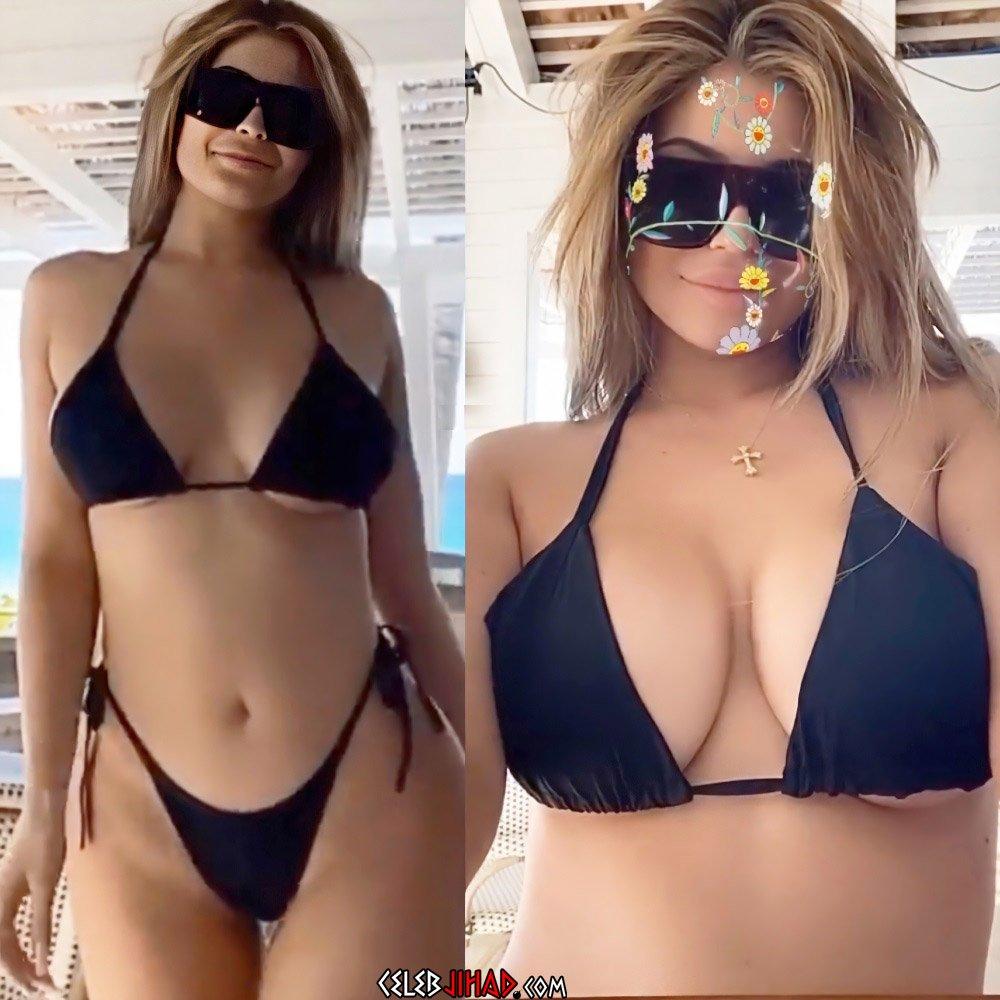 Kylie Jenner bikini tits