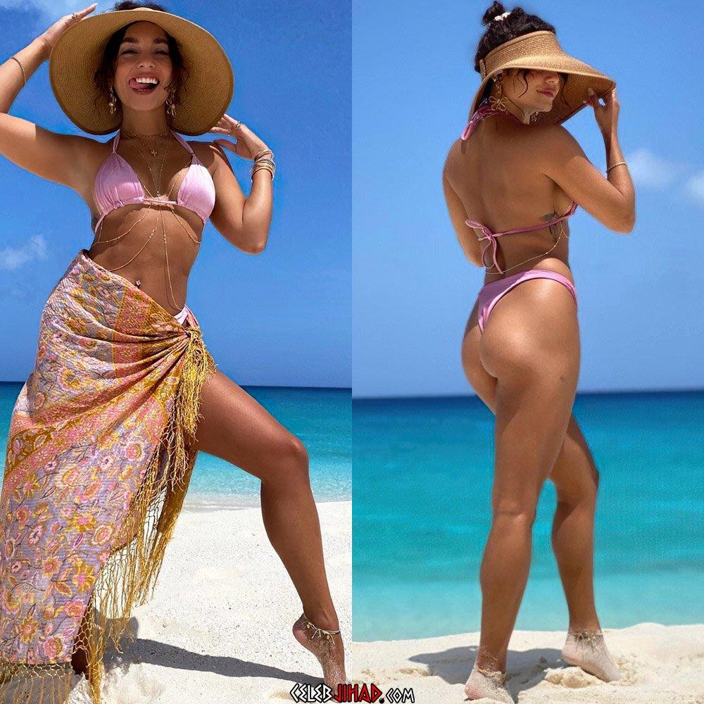 Vanessa Hudgens bikini boobs booty