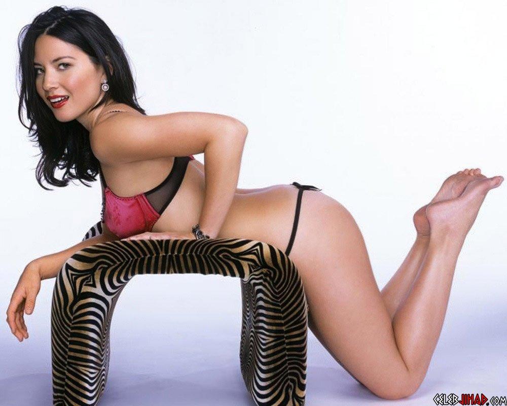 Olivia Munn thong